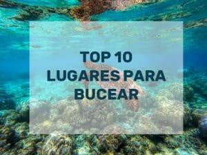 TOP 10 mejores lugares para bucear
