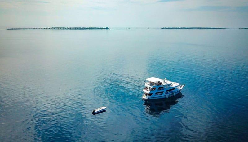 crucero de vida a bordo maldivas