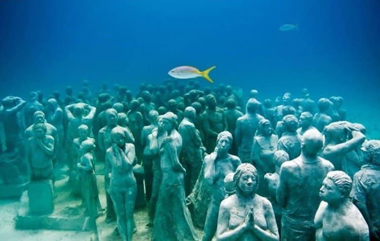 museo subacuatico arte