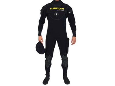 Subacqua Traje Seco Black Dry Sport