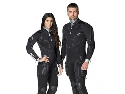 traje semiseco buceo waterproof sd