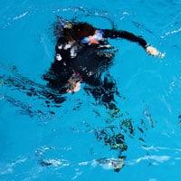 bautismo buceo piscina