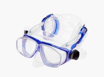 gafas de buceo con proteccion de oidos