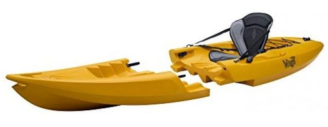 kayak desmontable plegable