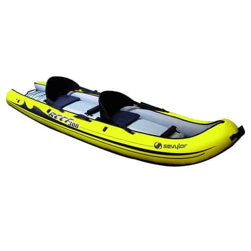 kayak sevylor sit on top reef