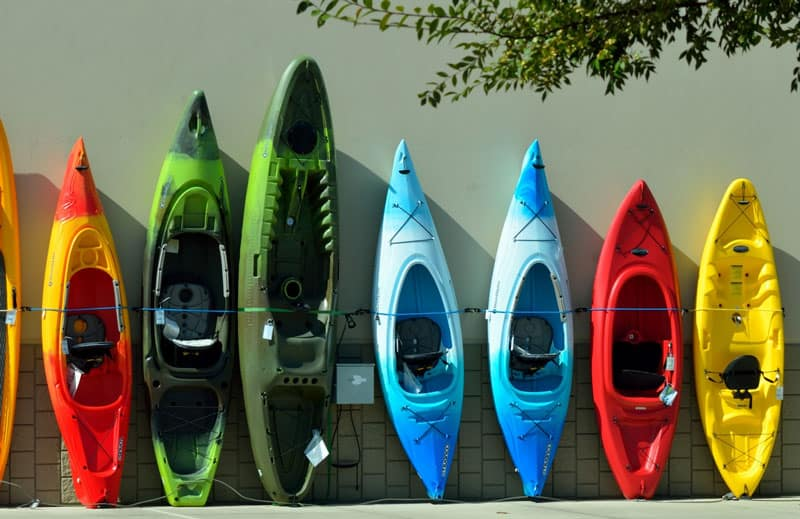 kayaks de pescar