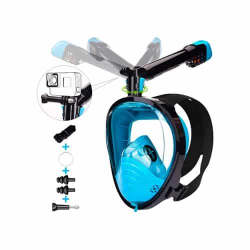 máscara de snorkel lemego