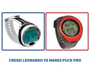 Comparativa Cressi Leonardo vs Mares Puck Pro