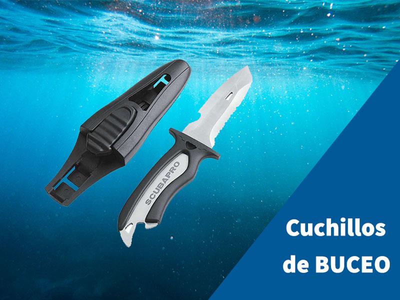 cuchillos de buceo o submarinismo