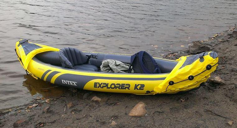 Intex K2 explorer kayak